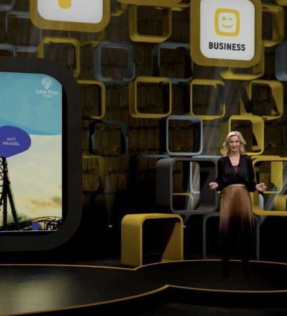 Nspire 2020 keynote Elke Geraerts 'Veerkracht van mens en medewerker' – Telenet Business